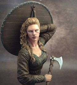 Shield Maiden from Nuts Planet