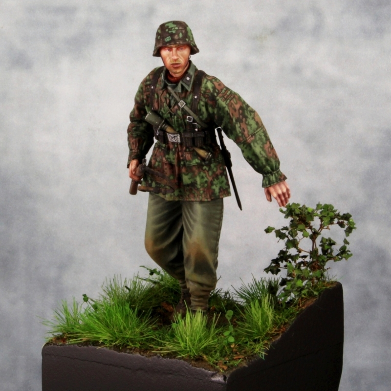 Waffen Ss Infantry By Thor Intararangson 183 Putty Amp Paint