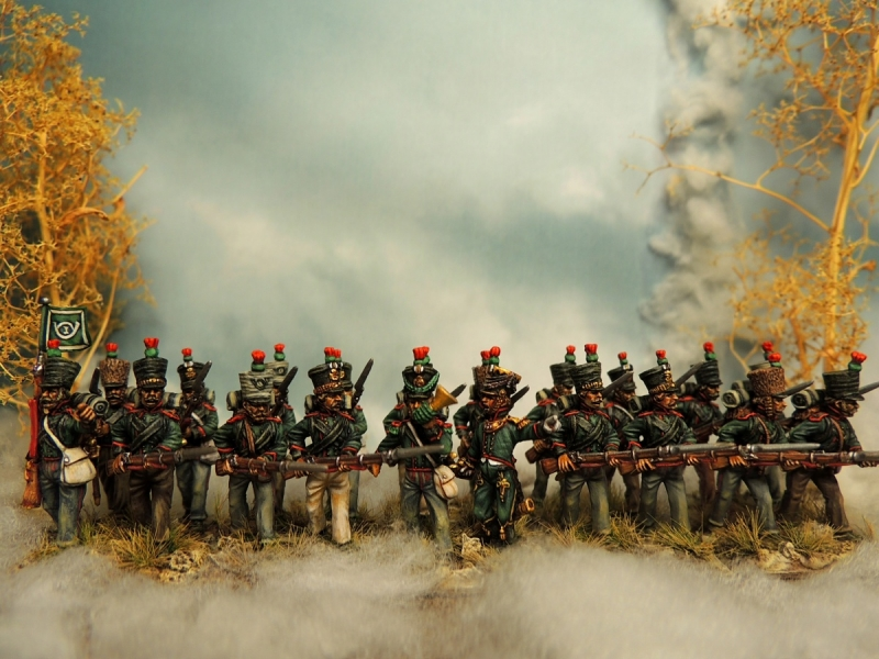 Saxe light infantry