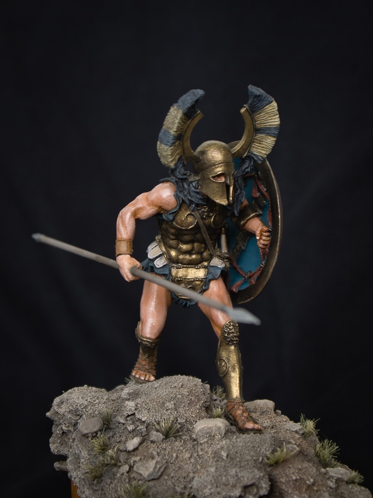 Spartan Oplite. 480 year BC. The Battle of Thermopylae