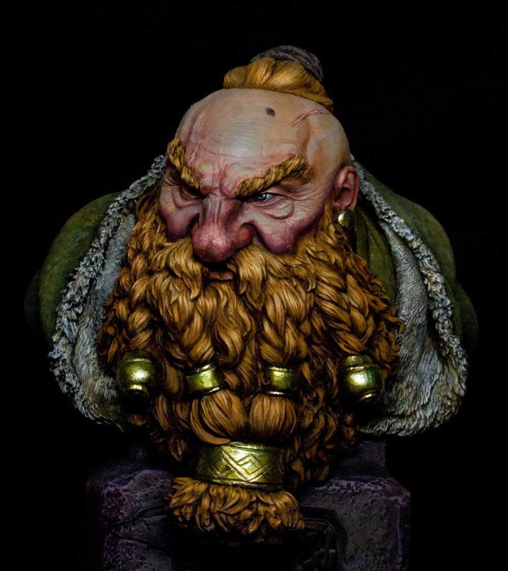 Dwarf Veteran by Jason Zhou · Putty&Paint