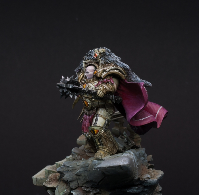 Horus - Primarch of the Lunar Wolves