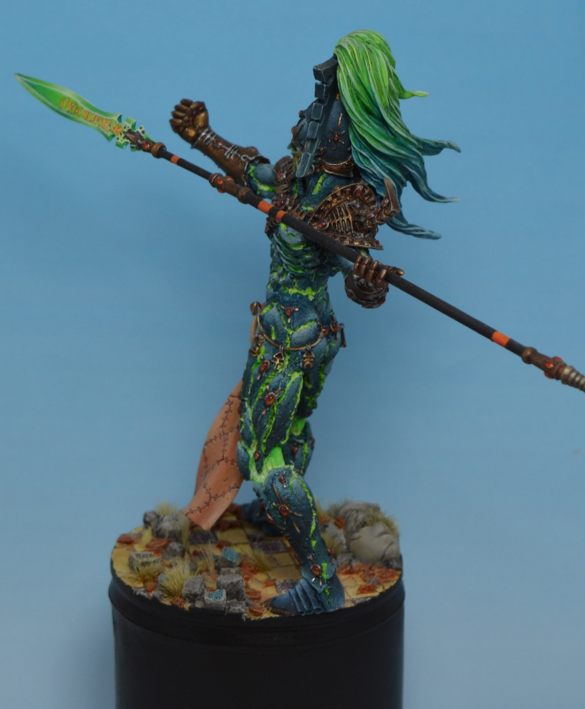 Matt Sterbenz Miniature Painting Forge World Avatar: Avatar Of Khaine By Ihmotep · Putty&Paint