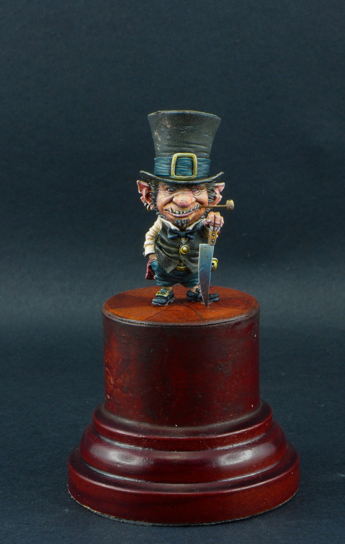 How Much Is A Paint Job >> KOBOLD : Jean baptiste Monge Blacksmith Miniature by François Lozach · Putty&Paint