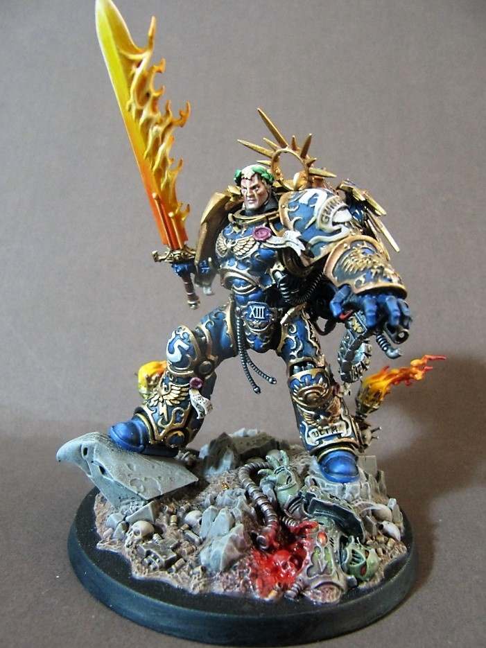 Roboute Guilliman By Mike Poole  U00b7 Putty U0026paint