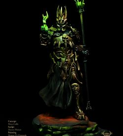 Dumah, Acolyte of Darkness - Boxart Kimera Models