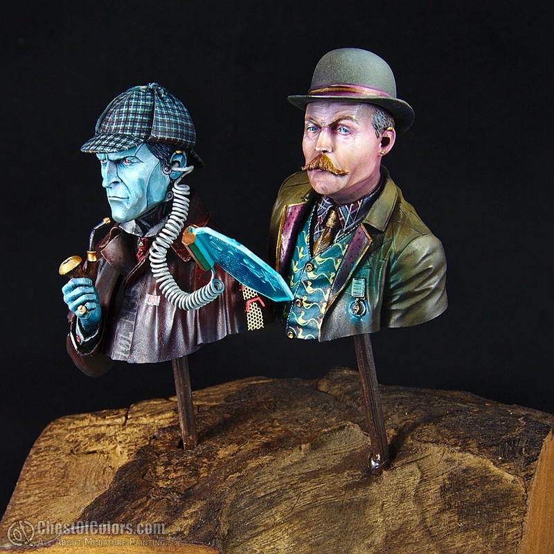 Investigator H0L-M35 (or: sci-fi Sherlock Holmes and Dr. Watson)