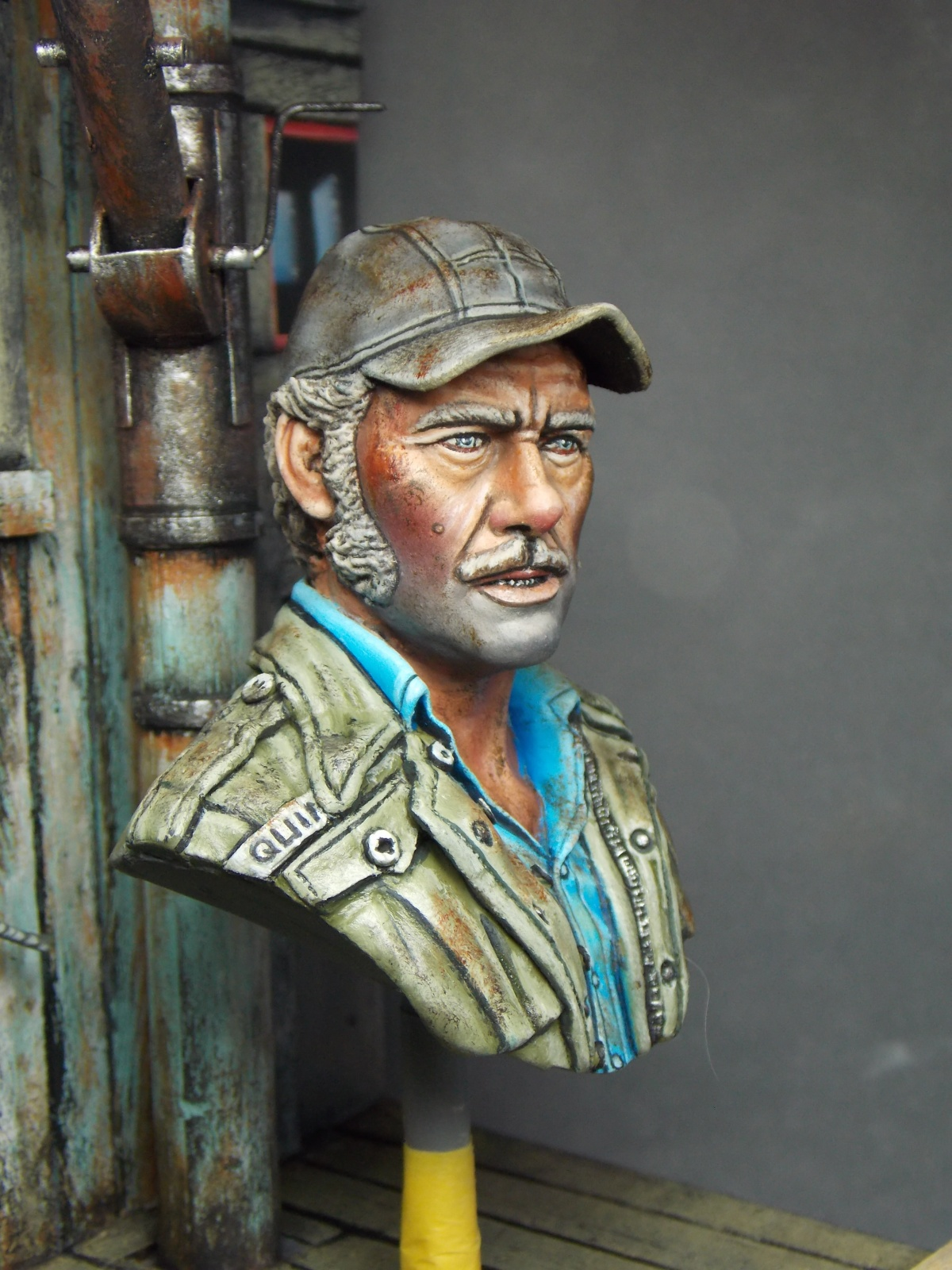 Quint Jaws 1975 By Brian Smith 183 Putty Amp Paint