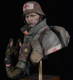 German Medic WW1 & Dog