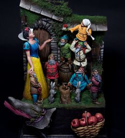 Antonio Leveque's Snow White and the Seven Dwarfs