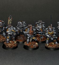 Iron Warriors Legion Tactical Squad