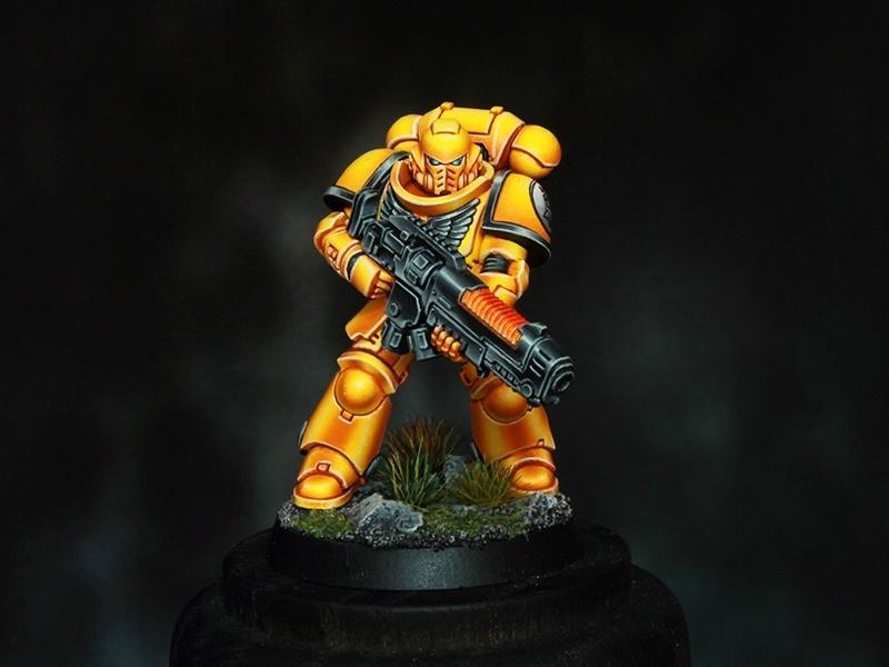 Imperial Fists Space Marine Primaris Hellblaster By