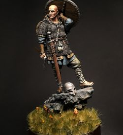 Castle miniatures- 75mm / Rolf at the cliff