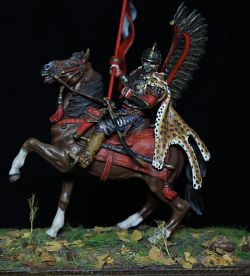 Polish winged hussar 17 century