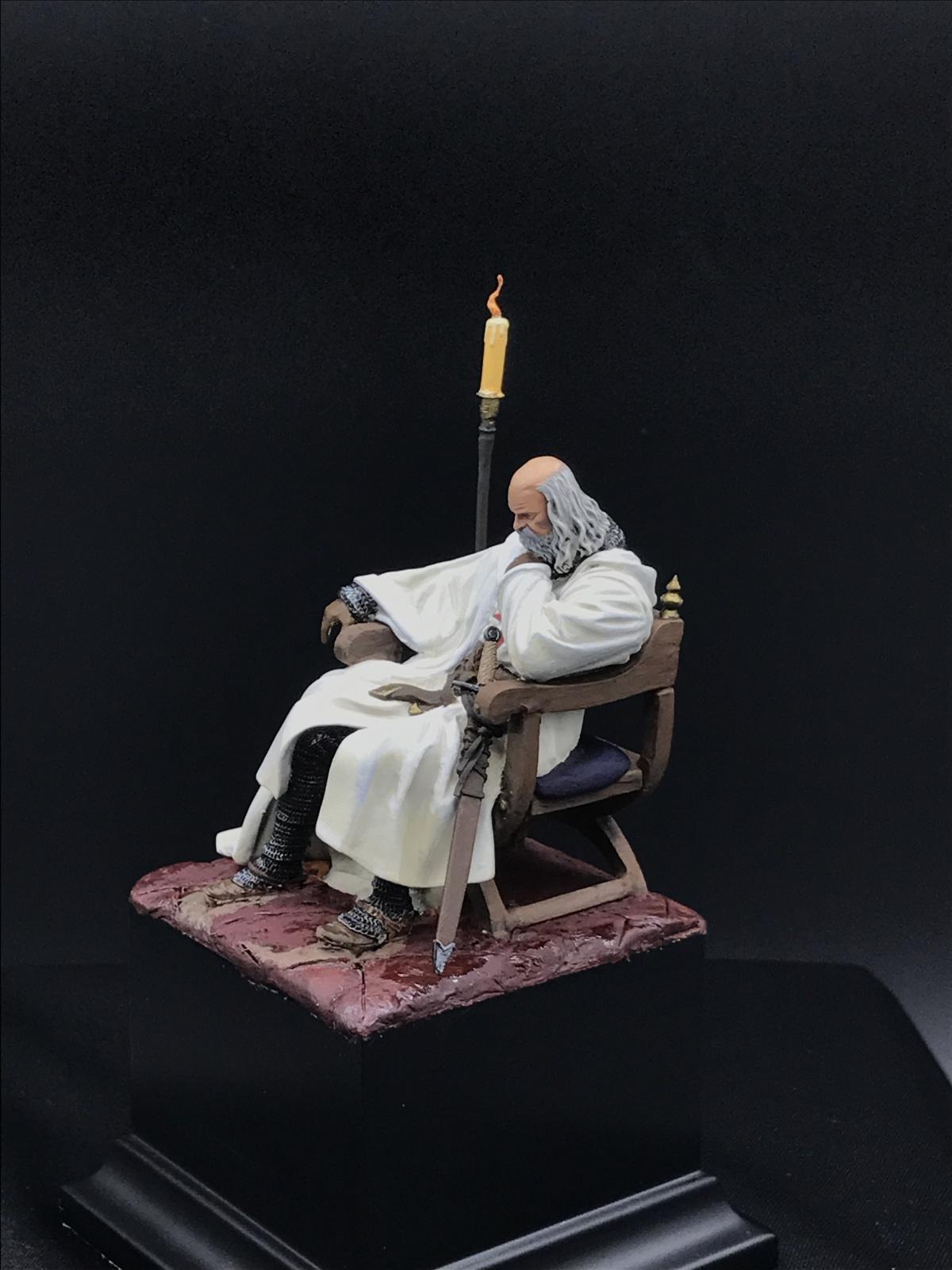 Jacques de Molay (Grand Master) The Last Knight Crusader ...