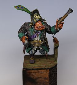 Black Sailors Orc Captain