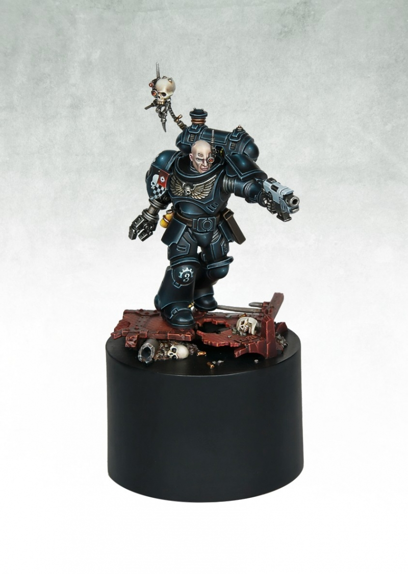 Primaris Iron Hands Space Marine By Max Faleij 183 Putty Amp Paint