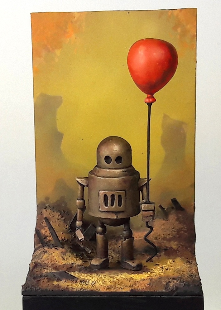Balloon! The art of Matt Dixon