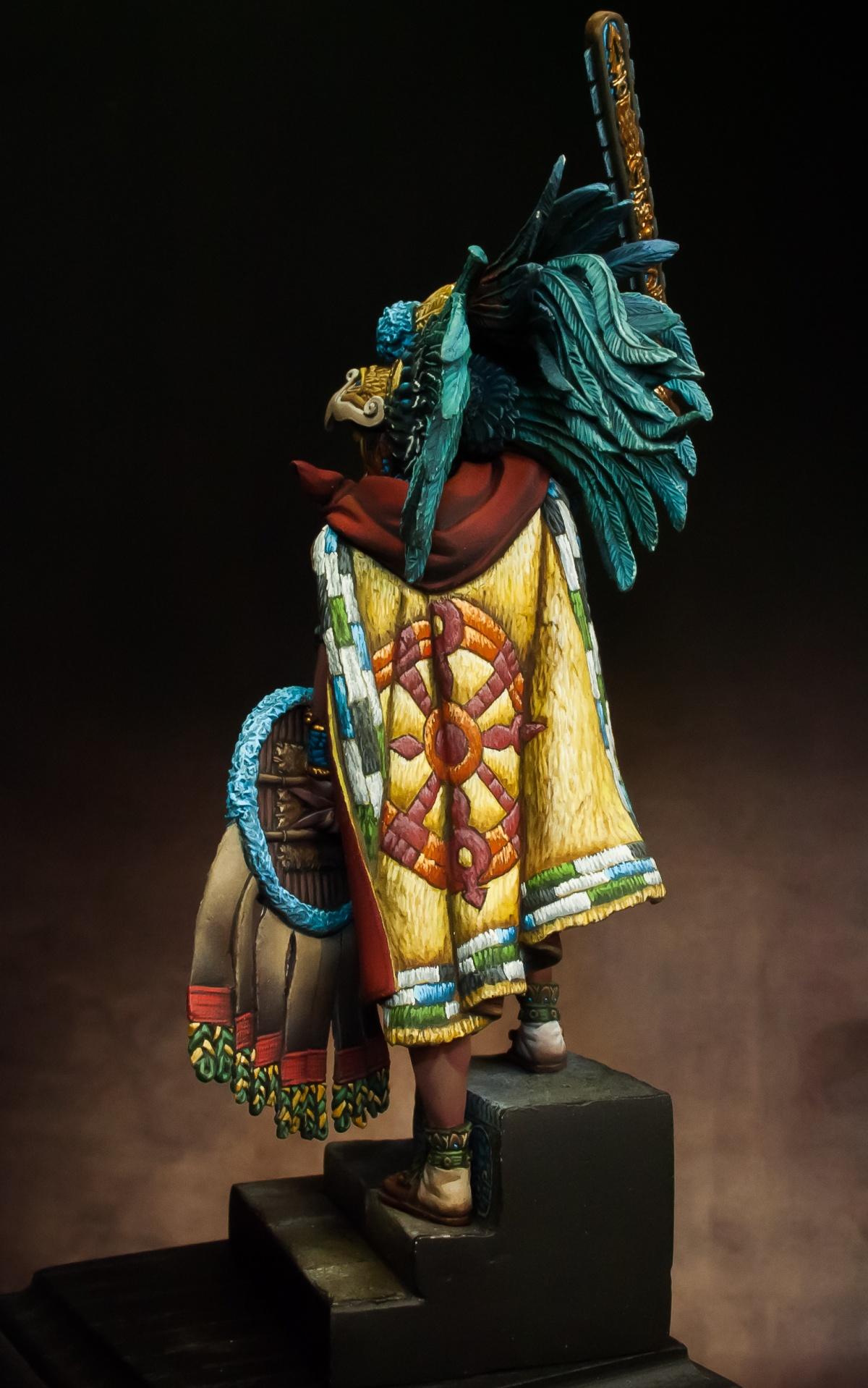 Montezuma Aztec Emperor By Alessandro 183 Putty Amp Paint