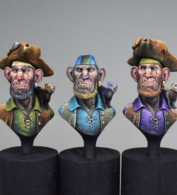 Thornely and Ratch the Pirates - FER Miniatures