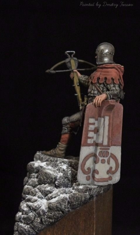 Crossbowman in the Canton of Obwalden, Switzerland xv century