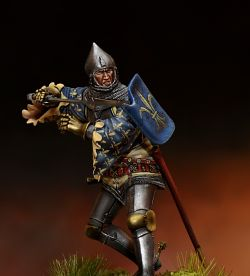 German Knight 14-15 Century.