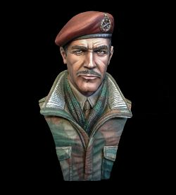 British Airborne Officer, Arnhem 1944 200mm
