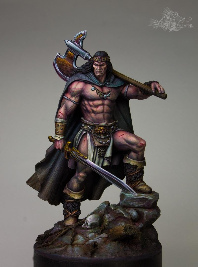 "Barbarian King by Anton Pryakhin ""Seemann"" · Putty&Paint"
