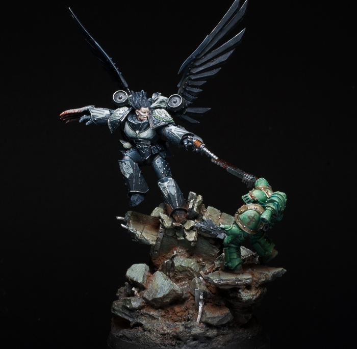 Corax - Primarch of the Raven Guard