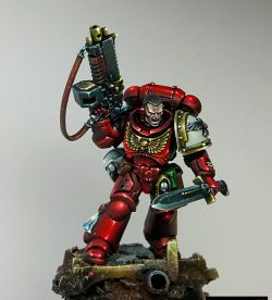 Primaris Blood Ravens Captain