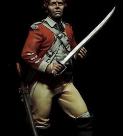 17th British Light Dragoon, 1775