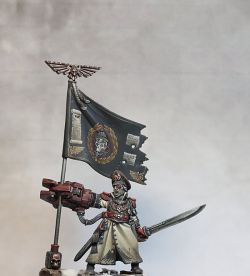Yarrick, the commissar