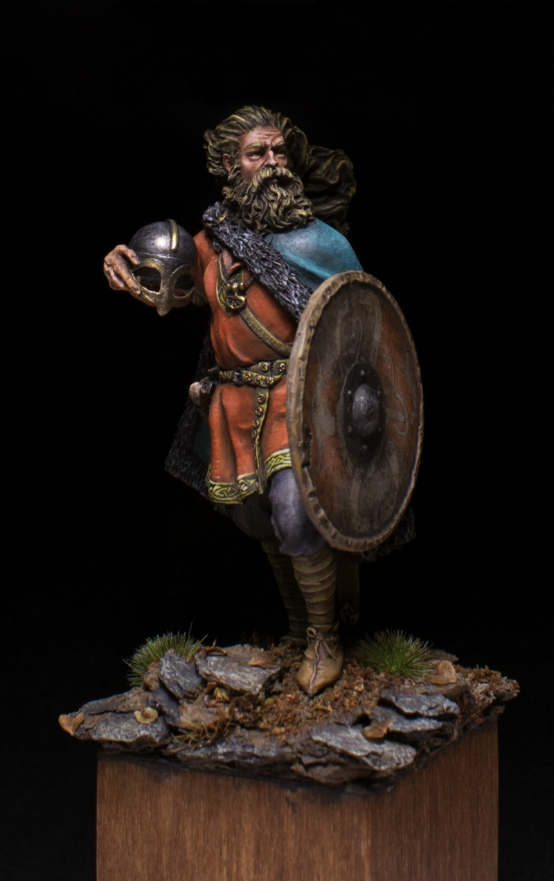 Harald The First King Of Norway By Evgeniy Ustyuzhanin