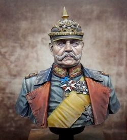 Historical Bust -  Paul Von Hindenburg