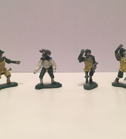 Landsknetch Halberdier Skeleton group [15mm]