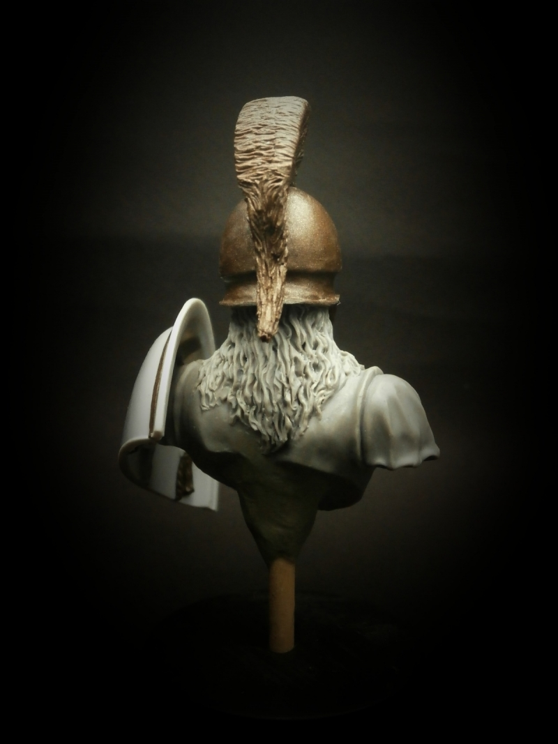 Greek Hoplite bust