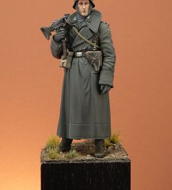 German Machine Gunner, Tamiya 120mm