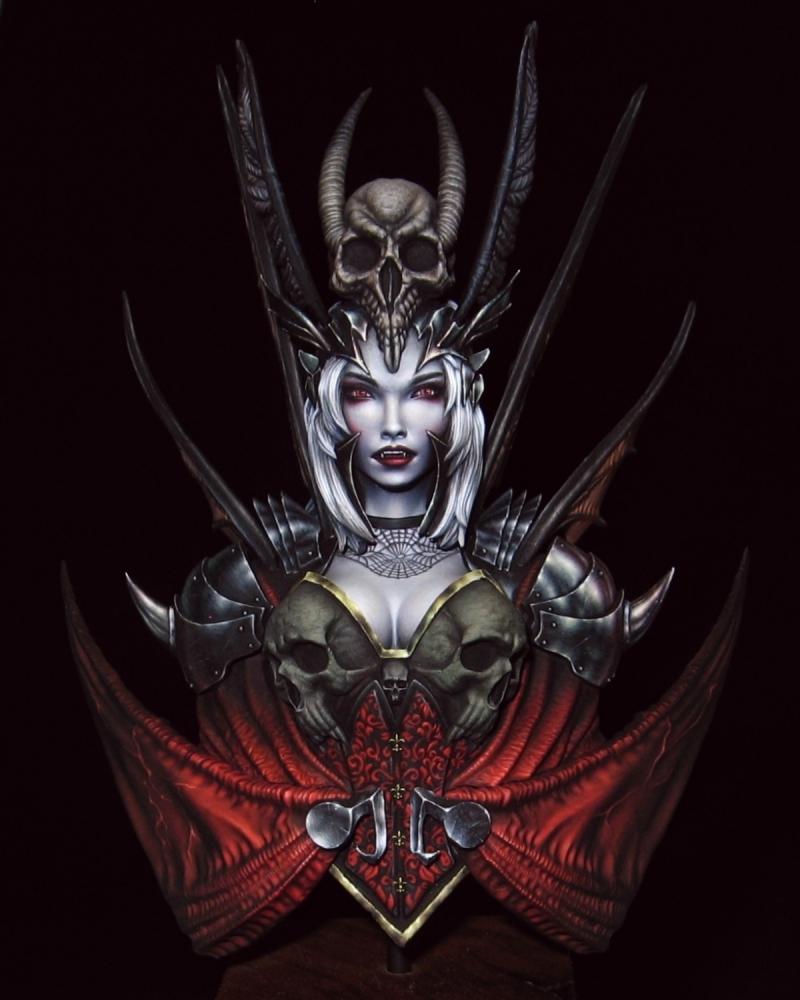 "Vampire Princess Elysabetha by Michal ""Lan"" Pisarski ..."
