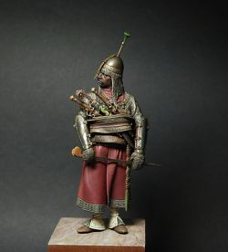 90 mm Islamic warrior