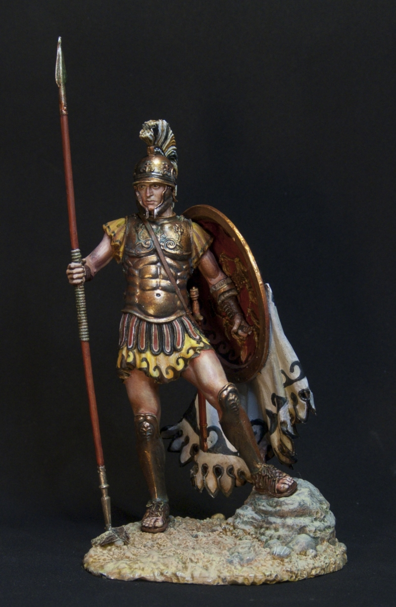 Greek Hoplite by oxo-kod · Putty&Paint