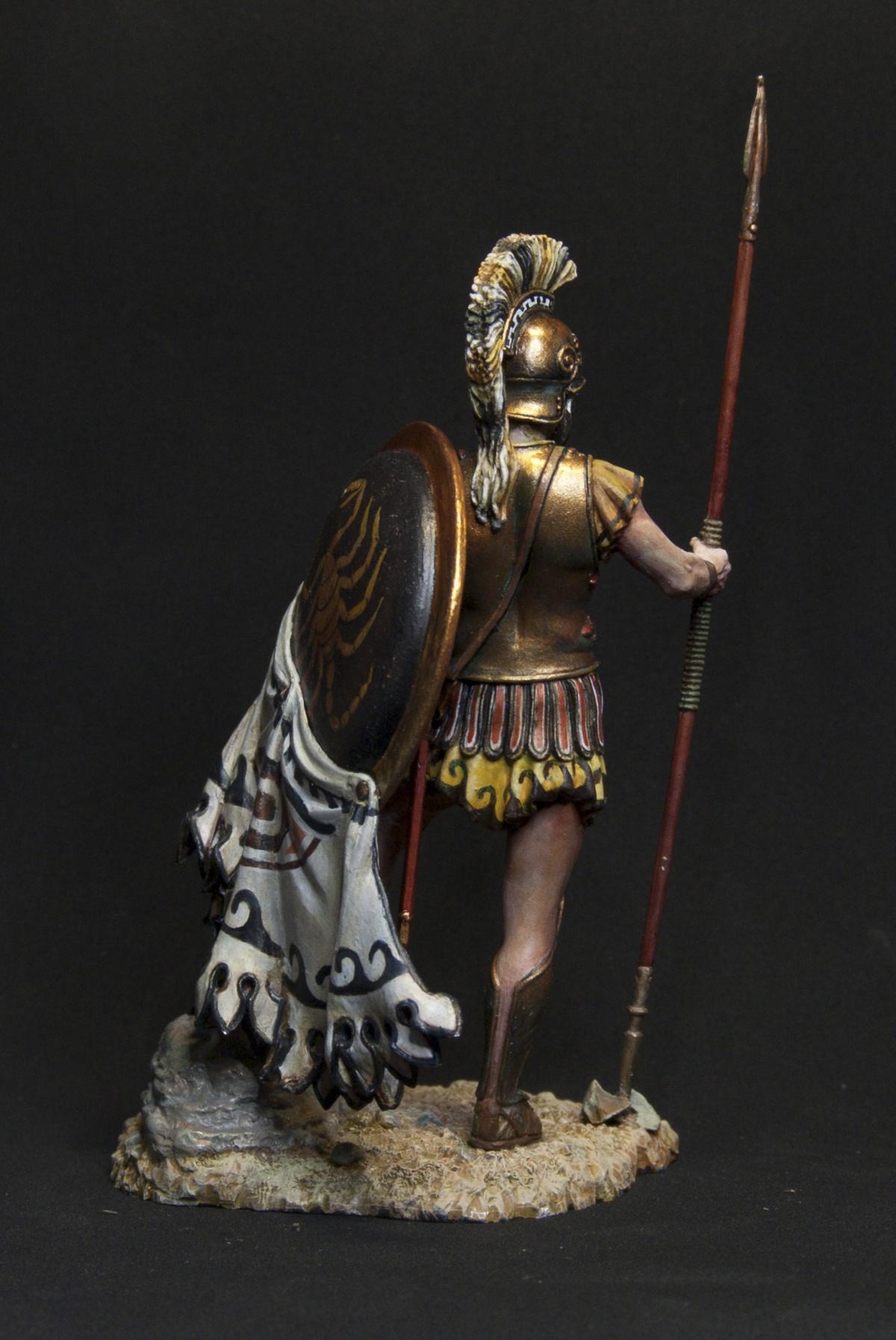 Greek Hoplite By Oxo Kod 183 Putty Amp Paint