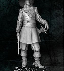 """ The Chavalier ""....Dolman Miniatures"