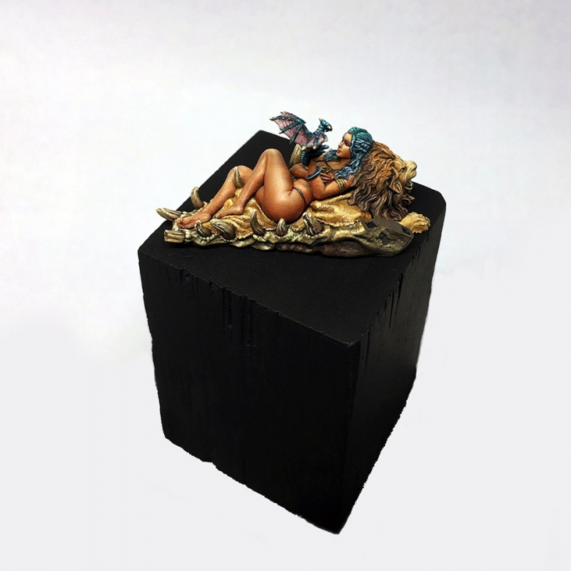 Mother of Dragons - 30mm boxart for Kabuki Studio