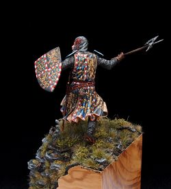 Hundred Years' War, french knight, 75 mm