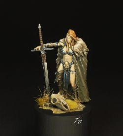 Viking Girl Ouroboros Miniatures