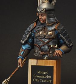 Mongol Commander 13th Century