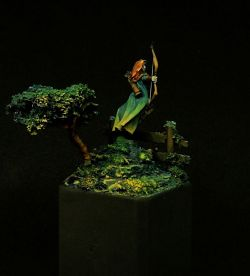 Female Ranger - Dark Sword Miniatures