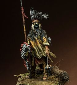 North Cheyenne Warrior, XIX sec.