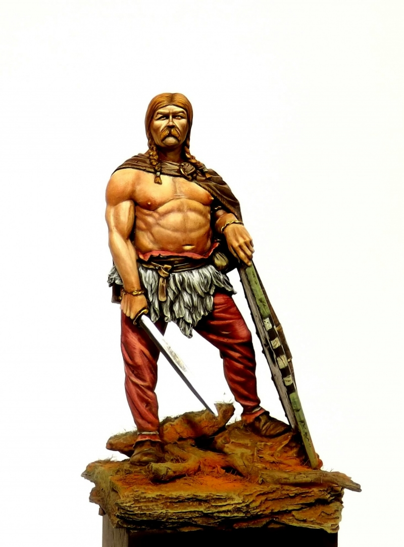 Gallic Warrior 54mm