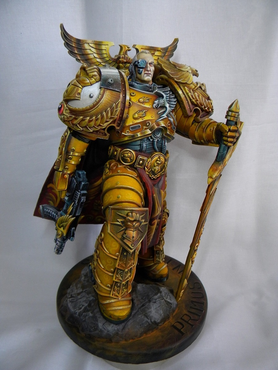 Rogal Dorn Primarch Of The Legion Imperial Fists By A